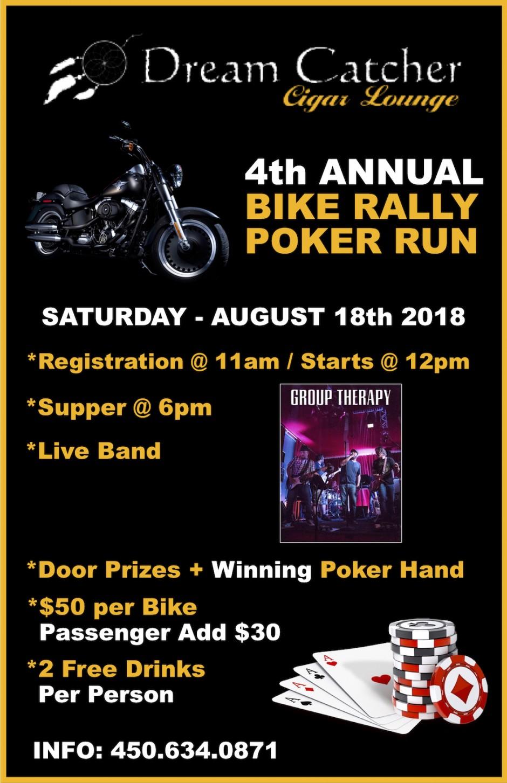 Bike Rally Poker Run 2018